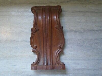 Antique Wood Architectural Furniture Salvage Piece Wall Art Ornate Detail