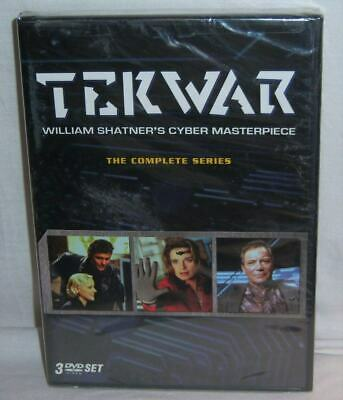 New Oop William Shatner Tekwar Complete Tv Series 18 Episodes 3 Disc Dvd 1995
