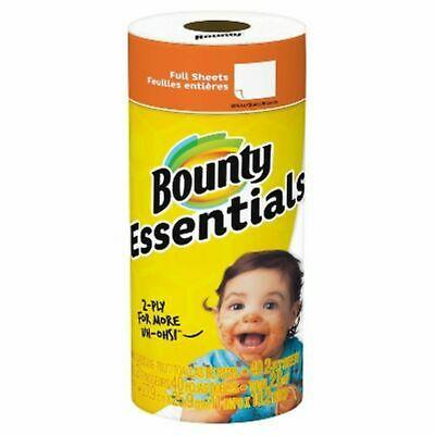 Bounty Basic White Paper Towels, Regular Roll, Count 1 - Adult Use Only