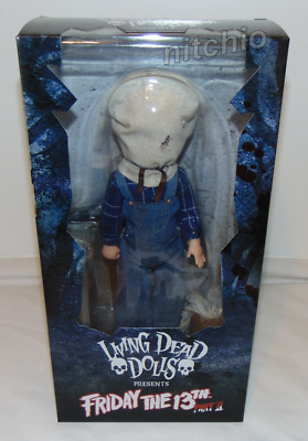 Living Dead Dolls FRIDAY THE 13TH PART II JASON VOORHEES
