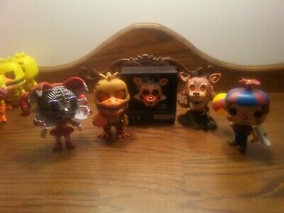 Funko Pop Five Nights at Freddy's lot of 5 loose. Lot A.