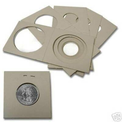 12 Cowens Quarter Size 2X2 Holder Cardboard/Mylar Best Quality 99 Cent Store