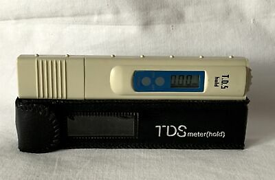 TDS Meter (Hold) Total Dissolved Solids Water Quality Meter NEW BATTERIES