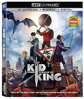 Kid Who Would Be King 4K UHD 03/19 4K (used) Blu-ray Only Disc Please Read