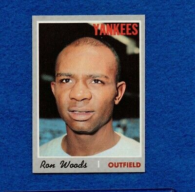 1970 Topps Set Break Pack Fresh #253 Ron Woods NR MT *918