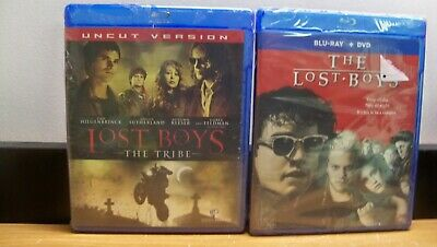 New Lost Boys 1& 2 The Tribe Blu Ray Lost Boys Blu Ray+ Dvd  1St Cls S&H
