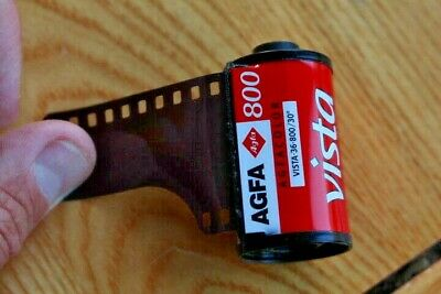 AGFA VISTA 800 ISO Colour Negative 35mm PHOTO FILM Expired, Unboxed
