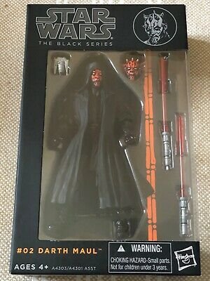 Darth Maul Star Wars Black Series 6 inch Wave 1 #02 2013 MIB