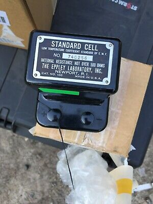 EPPLEY MODEL 100 STANDARD CELL..Free Shipping