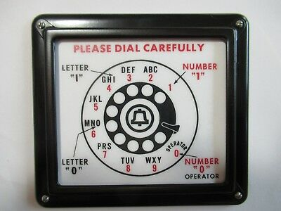 Payphone  3 slot pay phone Western Electric Middle direction sign  Bell Sytems