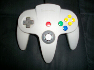Nintendo 64 N64 Gray  Controller Authentic Tight Stick