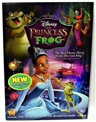 The Princess and the Frog (DVD, 2010) Walt Disney