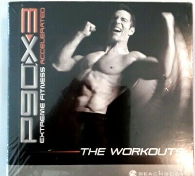 BEACHBODY P90X3 P90 X3 Complete - 17 Workouts, Guides