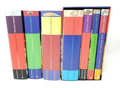 Harry Potter Book Set Complete 1 - 7 Hardcover Raincoast Canada Series