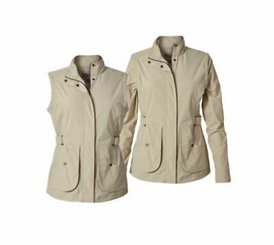 Royal Robbins Discovery Women's Convertible Jacket, Sandstone, M, 38160-SANDSTON