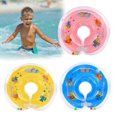 1-18 Months Baby Swimming Neck Float Infant Bath Adjustable Safety Aids