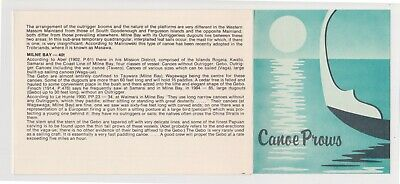 (K154-56) 1979 PNG stamp pack canoes used (BF)