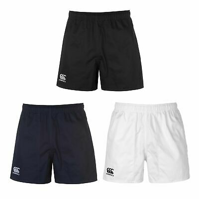 Canterbury Pro Rugby Shorts Mens Bottoms Short Gym Fitness Sportswear