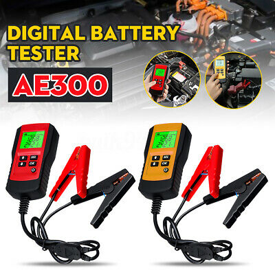 AE300 12V LCD Car Vehicle Digital Battery Load Tester Analyzer Diagnostic Tool