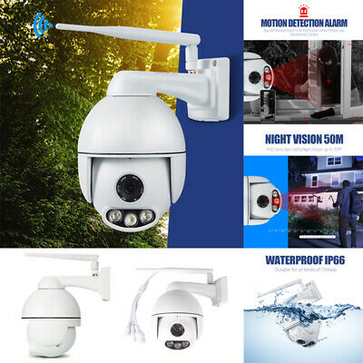 WANSCAM K54 Outdoor PTZ 1080P HD IP WiFi Camera Security Night Vision Waterproof