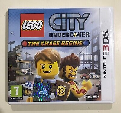 Lego City Undercover The Chase Begins Nintendo 2Ds 3Ds Ottimo Usato