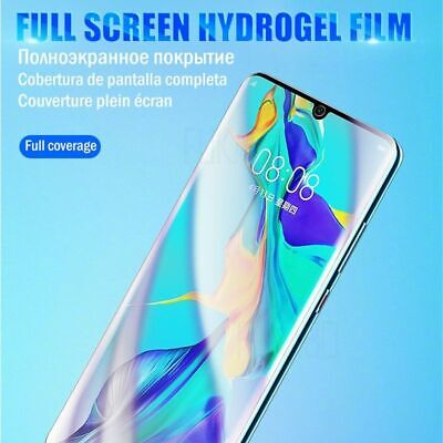 15D Full Cover Hydrogel Film For Huawei P30 Pro P20 Lite Screen Protector Honor