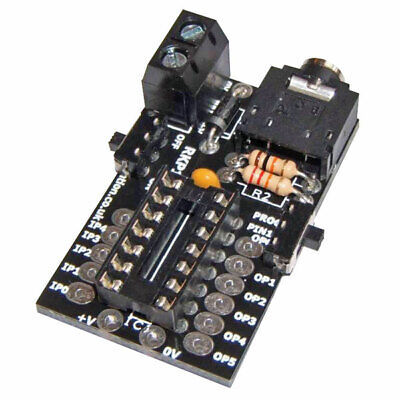 RK Education RKP14c PICAXE/Genie Compatible Compact 14-Pin PIC Project PCB