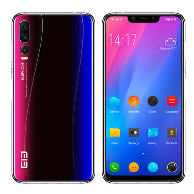 """Elephone A5 6.18"""" 4G Handy Android 8.1 Octa Core 5Cam 6GB/128GB 4000mAh Touch ID"""