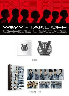 [Pre-Order] NCT WayV TakeOff official goods: POSTCARD BOOK