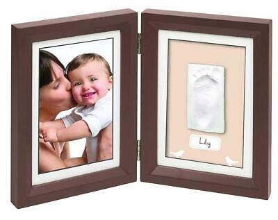Baby Art Print Frame - Brow and Taupe/Beige