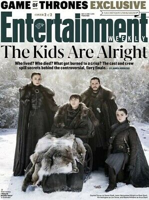 Entertainment Weekly May 31, 2019 Game Of Thrones Kids Are Alright Cover 2 Of 2