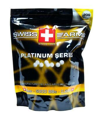 Billes king arms platinum 0.20G 6mm Sachet de 5000 billes