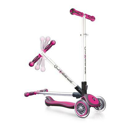 authentic sports & toys GmbH Globber My Free Fold Up/Elite S Trottinette rose