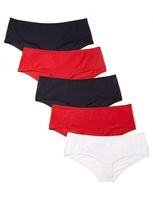 Iris & Lilly Shorty Femme, Lot L, Multicolore (Night Sky/Scarlet Sage/White)