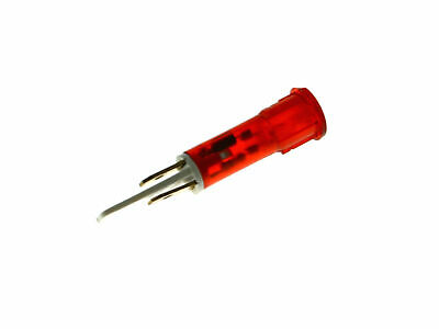 Indicator Light D 10Mm Red 230V Connection Male Faston 6.3Mm Qty 1 Pcs