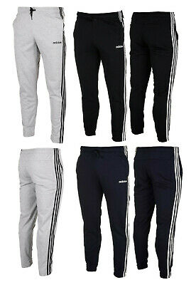 Adidas Mens Essentials 3-Stripes Track Pants Bottoms
