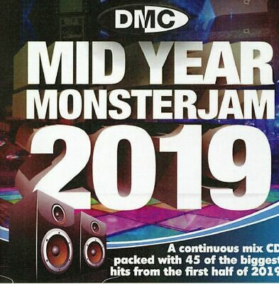 VARIOUS - Mid Year Monsterjam 2019 (Strictly DJ Only) - CD (mixed CD)