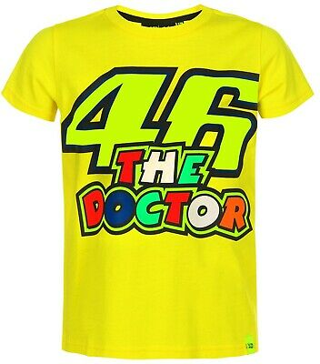 VR46 Kinder T-Shirt 46 The Doctor Valentino Rossi Merchandise VR|46 Dottore