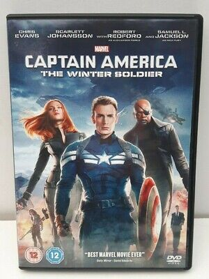 Captain America The Winter Soldier (2014) uk R2 DVD Marvel Cinematic Universe