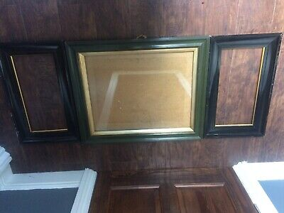 Job lot Vintage Picture Photo Frames  Feature Wall