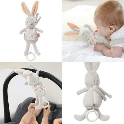 Fehn 062014 Mini Music Box Rabbit Cuddly Toy with Integrated Musical...