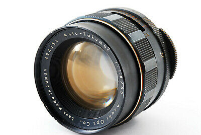 【AS IS】Asahi Opt. Pentax Auto-Takumar 55mm f/1.8 MF Lens M42 From Japan #984