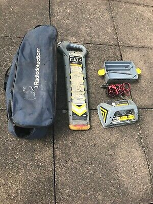 Radiodetection  CAT 4 cable avoidance tool cat + Genny 4 and bag