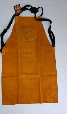Leather Welders Apron Glaziers Portwest Welding Work Safety Workwear