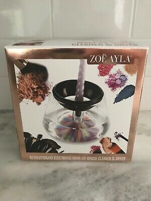 Zoe Ayla Electronic Makeup Brush Cleaner and Dryer New In Box