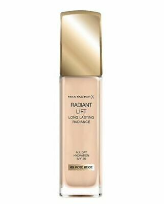 Max Factor  Radiant Lift Foundation, SPF 30 and Hyaluronic Acid, 65 ROSE BEIGE