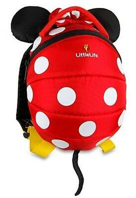 LittleLife Disney Red Minnie Mouse Toddler Backpack