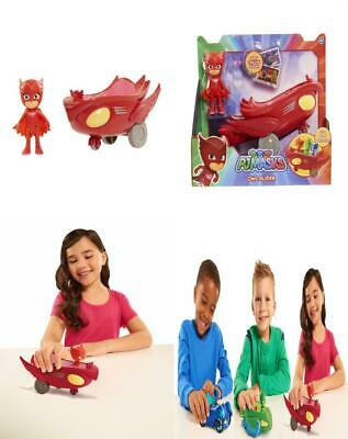 Pj Masks Vehicle And Figure Owlette Flyer One Size