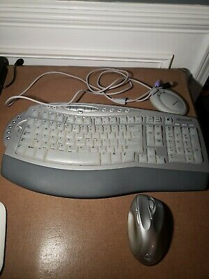 f83e9395b90 Microsoft Wireless Comfort Keyboard 1.0A #1045 Receiver 3.0 and Mouse 6000  #1052