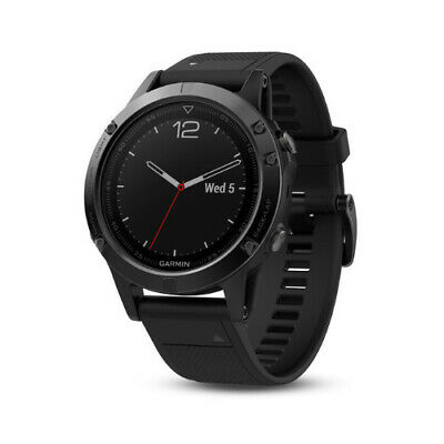 Garmin fenix 5 Sapphire Edition Multi-Sport Training GPS Watch (Black/Black)